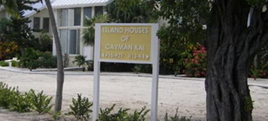 Island Houses New Sign